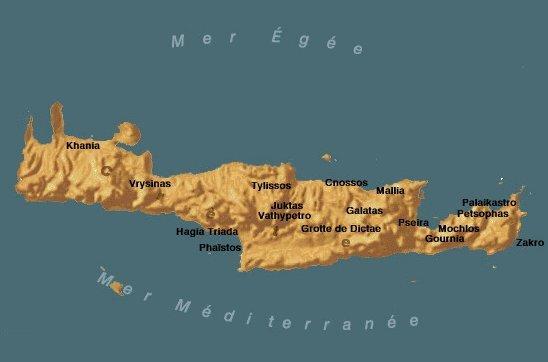 Carte Crete Minoenne.Carte Des Civilisation Antiques Du Moyen Orient